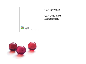 CCH Document Logo